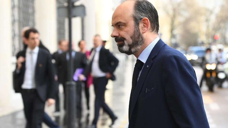 La crise du coronavirus contraint le chef du gouvernement Edouard Philippe à annuler un meeting de campagne au Havre où il est candidat à la mairie, à la veille du premier tour des municipales, le 12 février 2020