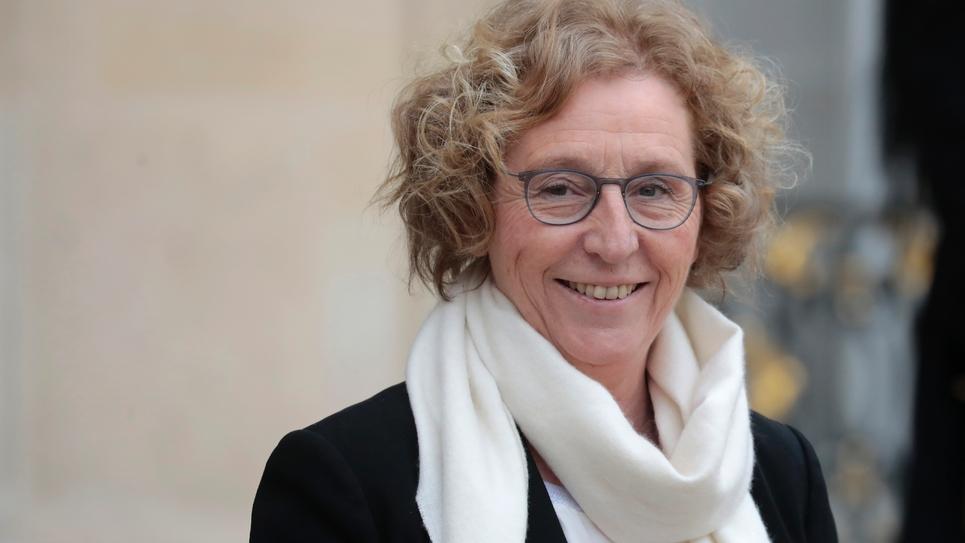 La ministre du Travail Muriel Pénicaud à la sortie de l'Elysée, le 6 mars 2019 à Paris