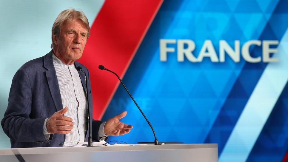 L'ancien ministre des Affaires étrangères Bernard Kouchner le 30 juin 2018 à Villepinte