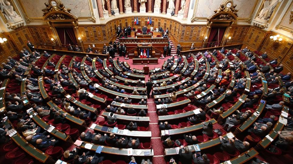 Vue générale du Sénat