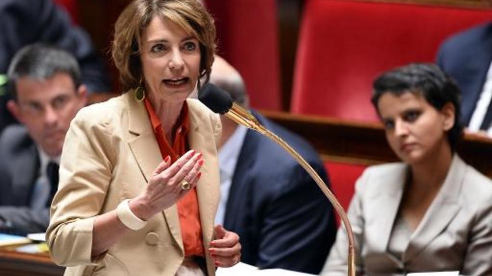 La ministre de la Santé et des Affaires sociales Marisol Touraine le 10 juin 2015 à l'Assemblée nationale