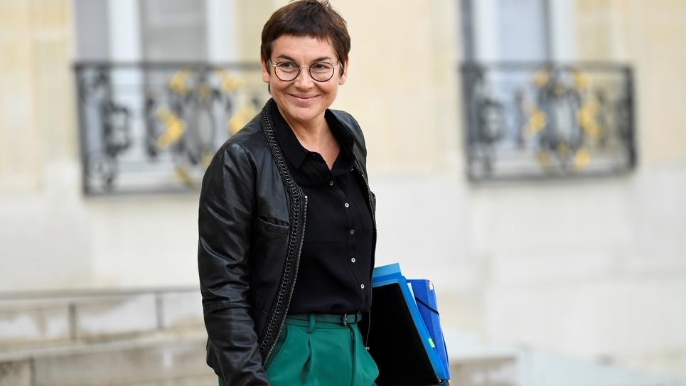 La ministre des Outremers Annick Girardin le 9 octobre 2019 à Paris