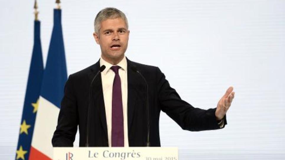 Le secrétaire général du parti Les Républicains (ex-UMP) Laurent Wauquiez, le 30 mai 2015 à Paris