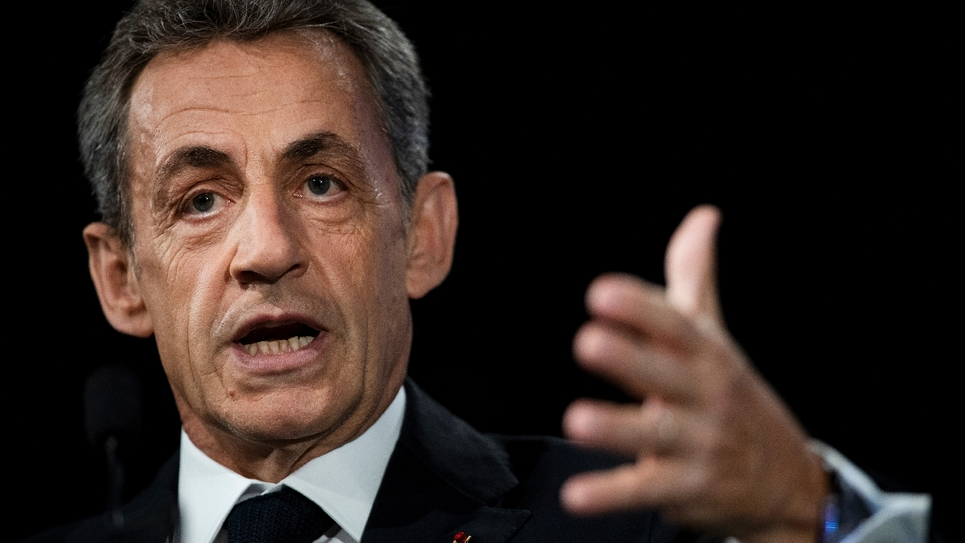 L'ancien président de la République Nicolas Sarkozy, le 21 juin 2019 à Paris