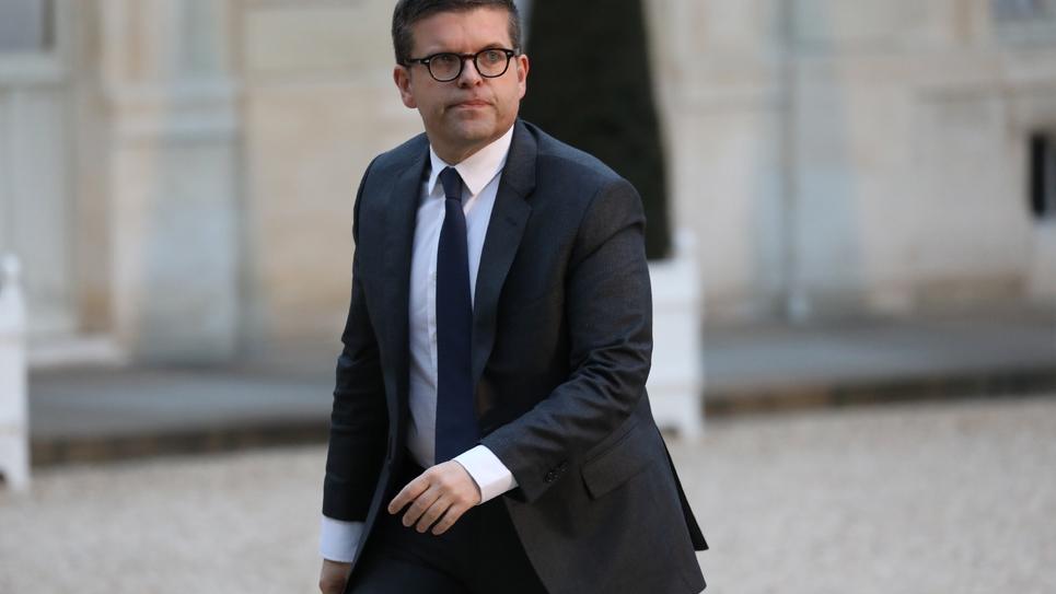 Le député PS Luc Carvounas le 30 janvier 2018 au palais de l'Elysée, à Paris