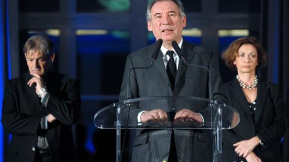 Le président du MoDem, François Bayrou, le 9 janvier 2015 à Pau