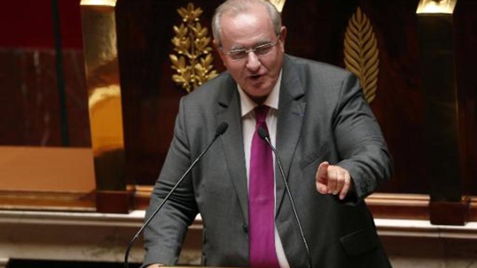 Maurice Leroy, député UDI de Loir-et-Cher, à l'Assemblée nationale le 17 juillet 2014