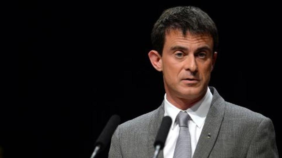 Le Premier ministre Manuel Valls, le 19 mars 2015 à Tulle