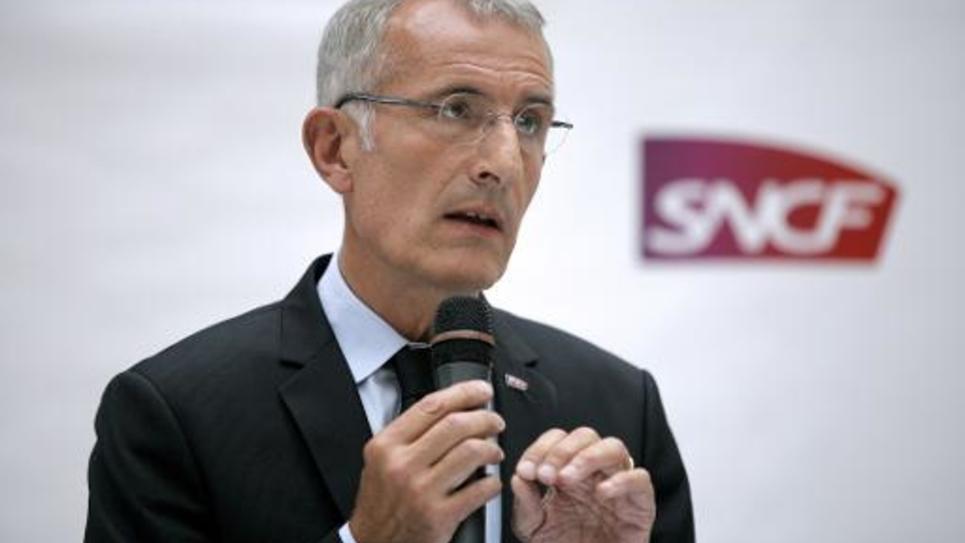 Guillaume Pepy, à la tête de la SNCF, le 7 juillet 2014 à Paris
