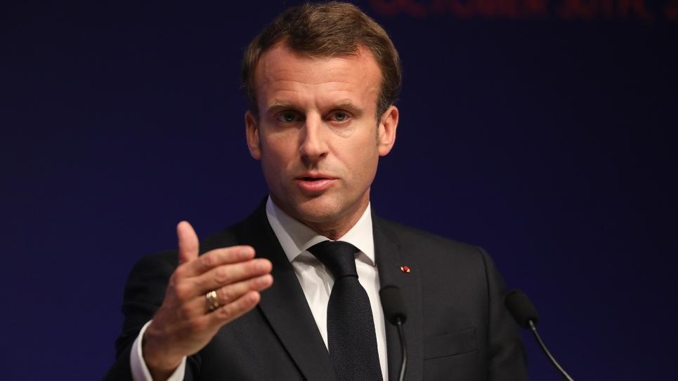 Le président Emmanuel Macron, le 30 octobre 2019 à Paris