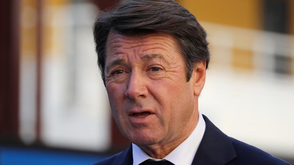 Le maire LR de Nice Christian Estrosi, le 16 novembre 2018 à Nice