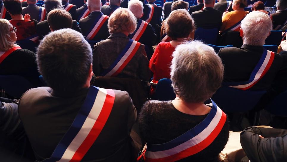 Au congrès des maires de France, en novembre 2017 à Paris