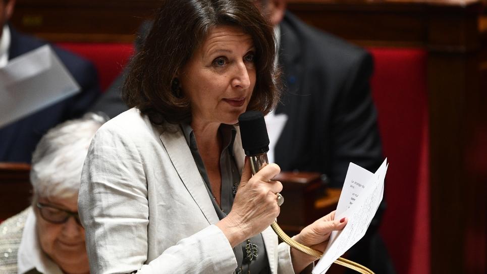 Agnès Buzyn en juillet 2019 à l'Assemblée nationale