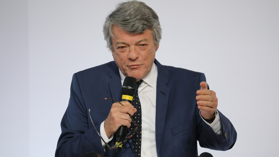 Jean-Louis Borloo à Paris, le 22 mai 2018