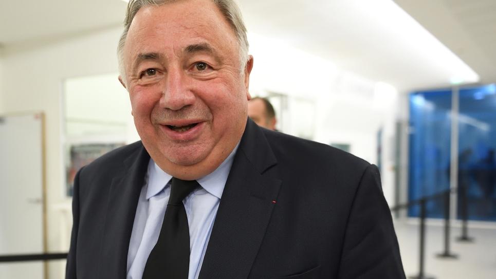 Gérard Larcher, président du Sénat et président du Comité politique du parti Les Républicains, le 13 décembre 2016 à Paris
