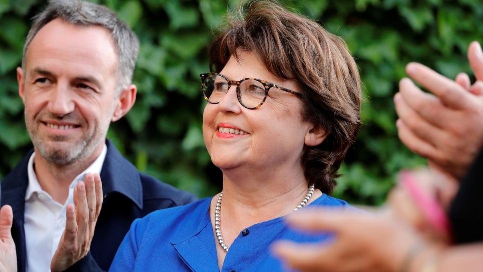 La maire PS de Lille Martine Aubry au Sénat à Paris, le 17 juillet 2019