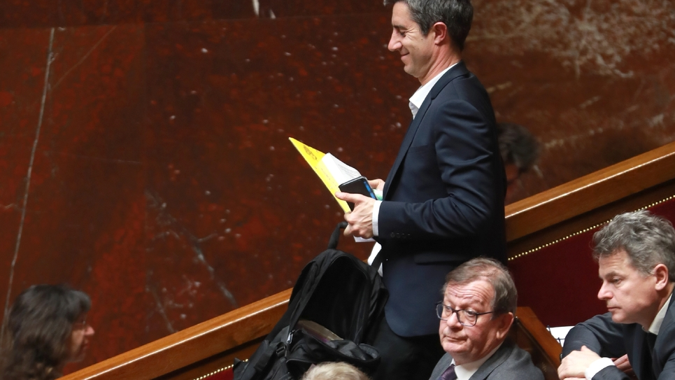 Le journaliste et député La France insoumise (LFI) François Ruffin, à l'Assemblée nationale, le 19 février 2019