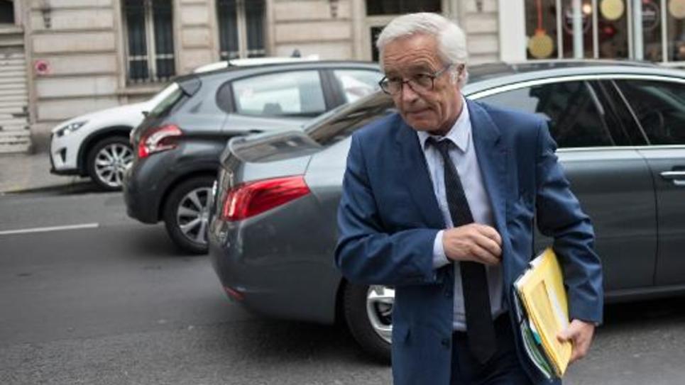 Le ministre du Travail François Rebsamen à Paris le 27 mai 2014