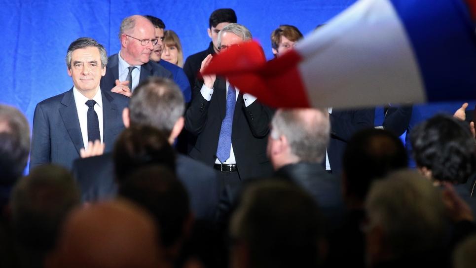 François Fillon en campagne dans les Ardennes, 2 février 2017 à Charleville-Mezieres