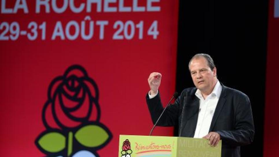 Jean-Christophe Cambadélis à La Rochelle, le 29 août 2014