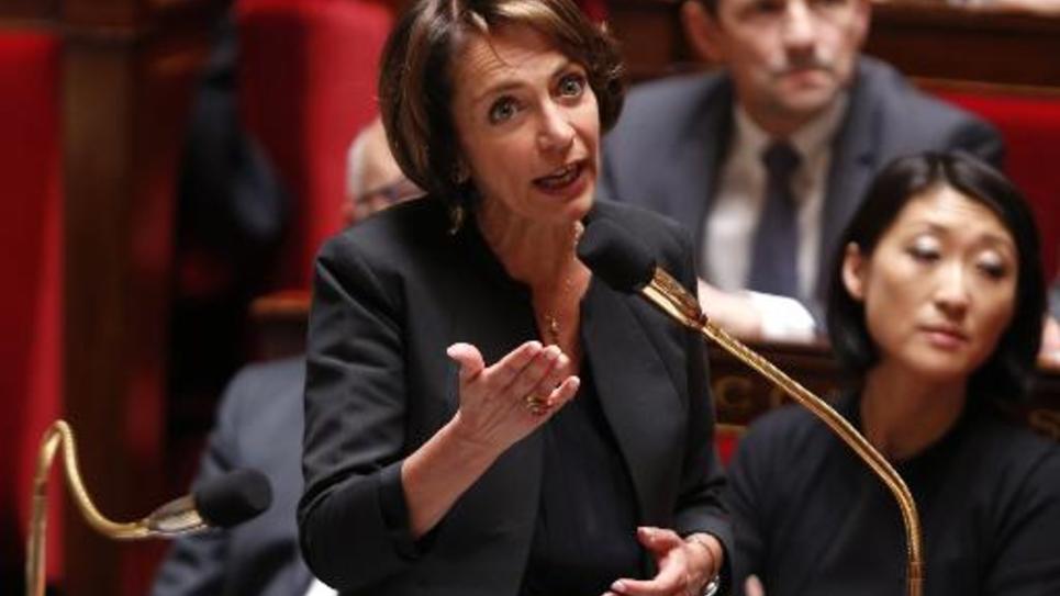 Marisol Touraine le 27 mai 2015 à l'assemblée nationale à Paris