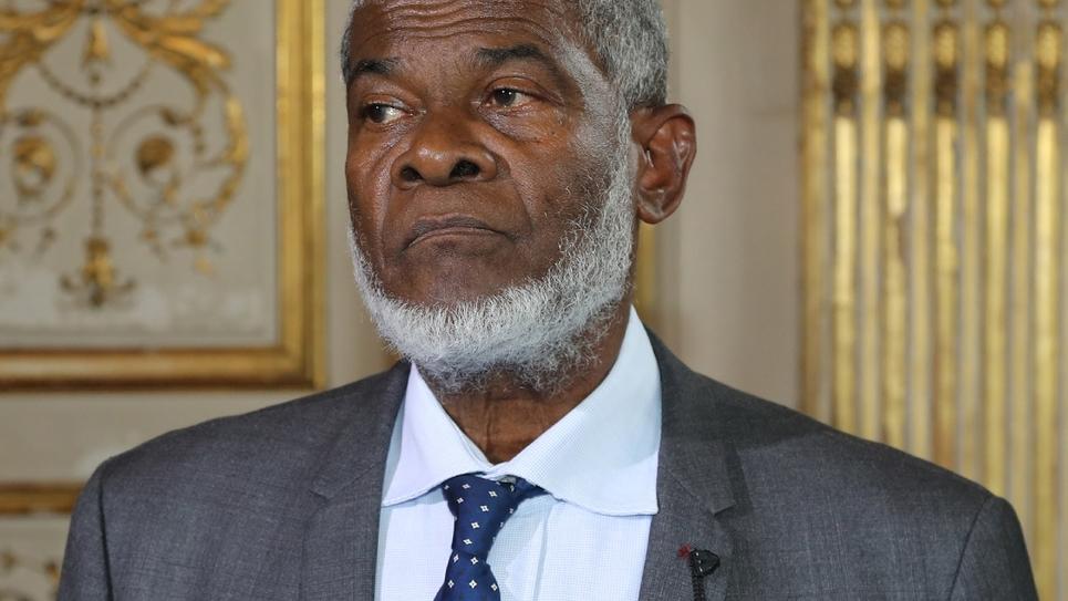 Soibahadine Ibrahim Ramadani, président du conseil départemental de Mayotte, le 29 juin 2018 à Paris