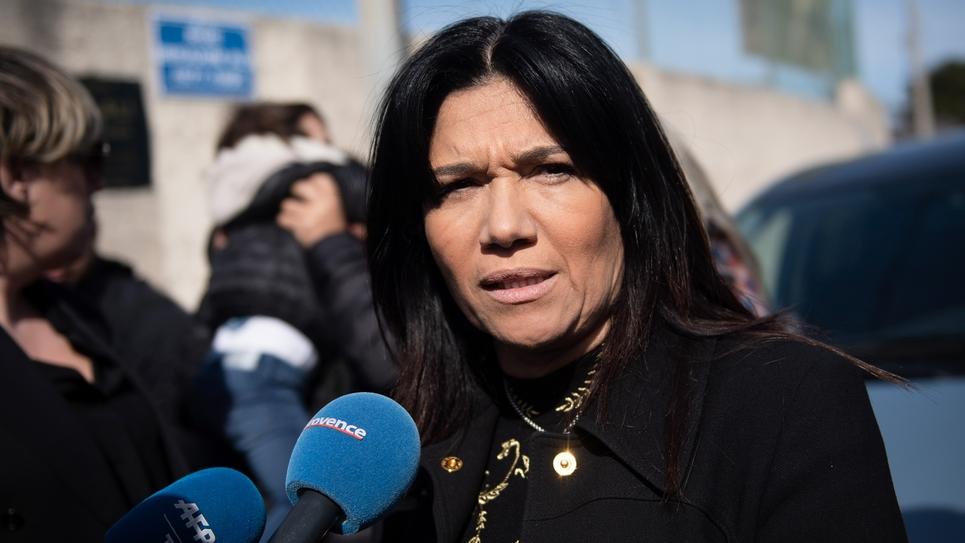 Samia Ghali, sénatrice ex-PS, en février 2020 à Marseille