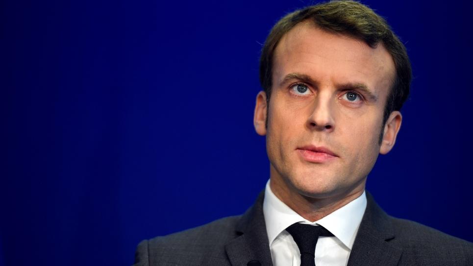 Emmanuel Macron à Paris le 19 janvier 2017