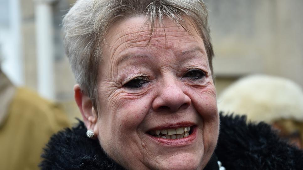 La secrétaire particulière de François Fillon, Sylvie Fourmont, le 11 décembre 2016 à Sablé-sur-Sarthe
