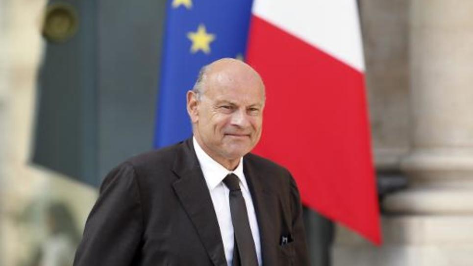 Le secrétaire d'Etat chargé des relations avec le Parlement Jean-Marie Le Guen au palais de l'Elysée le 10 septembre 2014