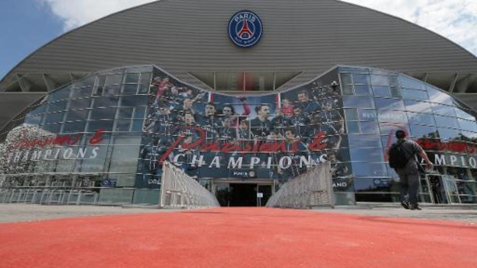 Le stade du Parc des princes à Paris le 23 août 2013