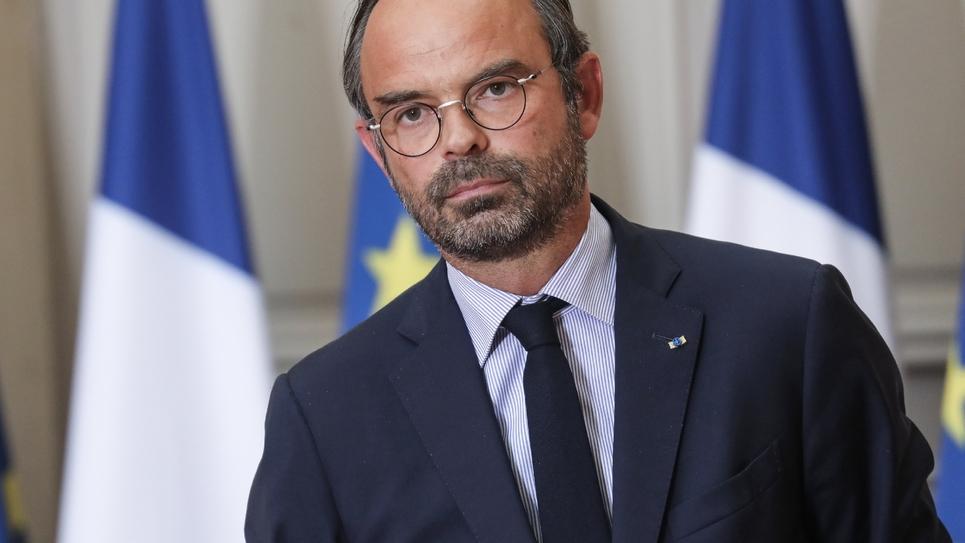 Le Premier ministre Edouard Philippe durant une conférence de presse à l'issue d'un séminaire gouvernemental, le 5 septembre 2018 à Paris