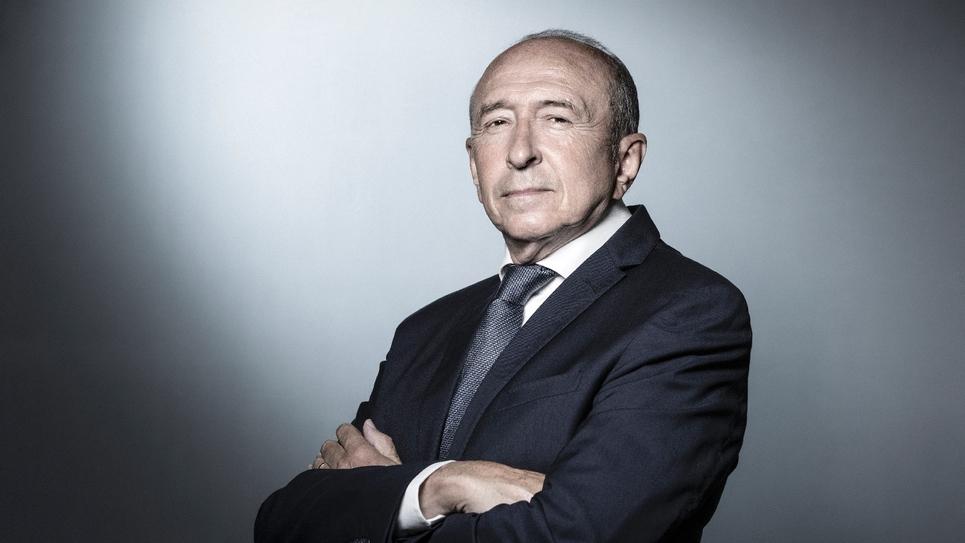 Gérard Collomb, photographié en août 2018 à Paris