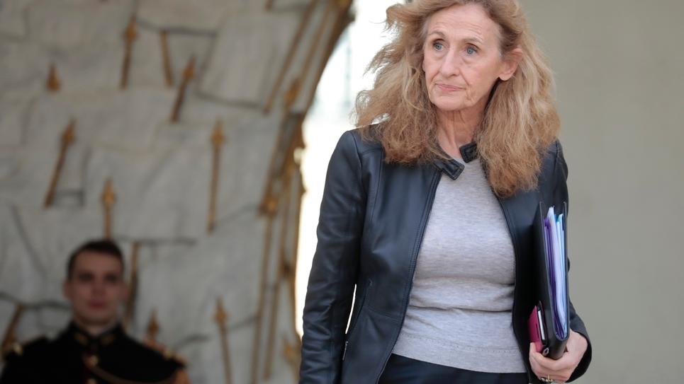 La ministre de la Justice Nicole Belloubet à Paris, le 20 février 2019