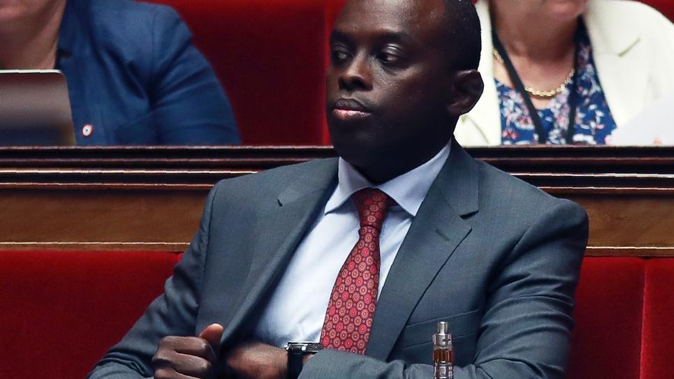 Le député LREM Jean-François Mbaye à l'Assemblée nationale le 27 juillet 2017