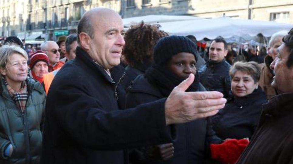Alain Juppé le 6 décembre 2014 à Bordeaux