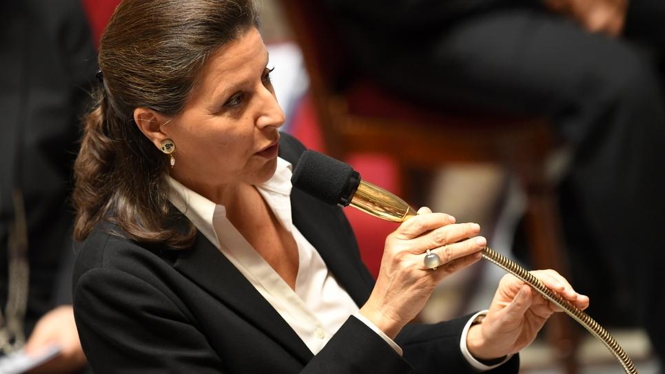 Agnès Buzyn à l'Assemblée nationale le 24 octobre 2017