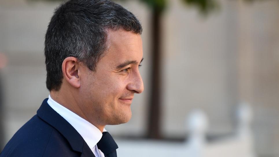 Le ministre de l'Action et des Comptes publics Gérald Darmanin, le 10 octobre 2018 à Paris.