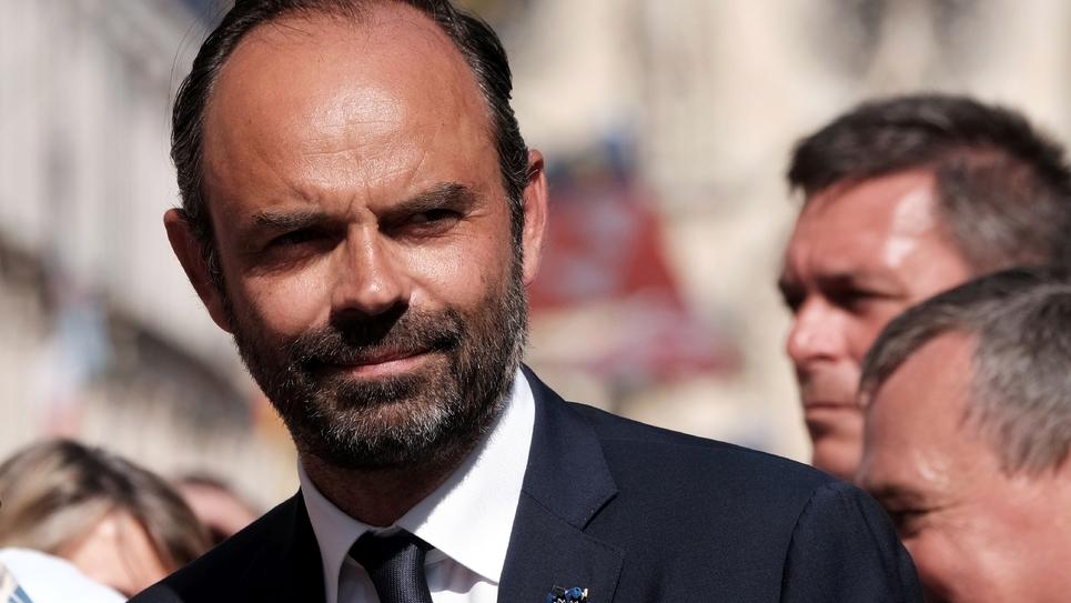Le Premier ministre Edouard Philippe, le 8 mai 2018, à Orléans