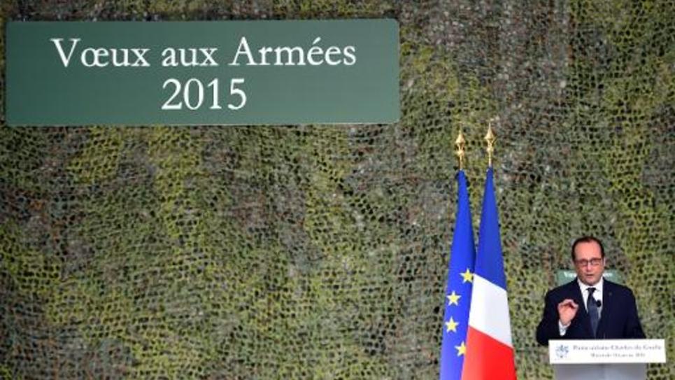 François Hollande, le 14 janvier 2015 à Toulon