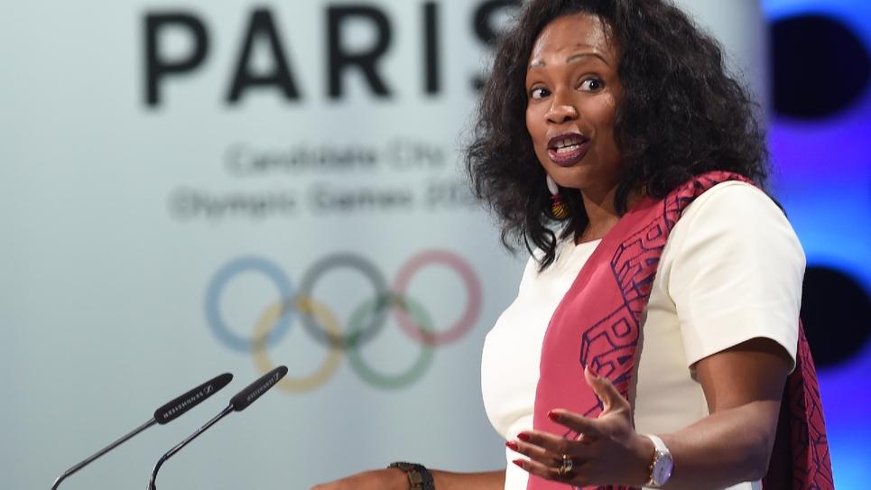 La ministre des Sports Laura Flessel lors d'une session du Comité international olympique à Lima, le 13 septembre 2017