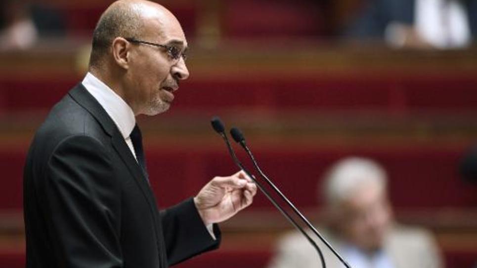 Harlem Desir le 25 juin 2014 à l'Assemblée nationale à Paris