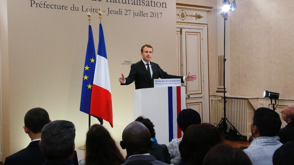 Discours clé d'Emmanuel Macron à Orléans le 27 juillet 2019 lors duquel il expose sa politique face à la crise des migrants