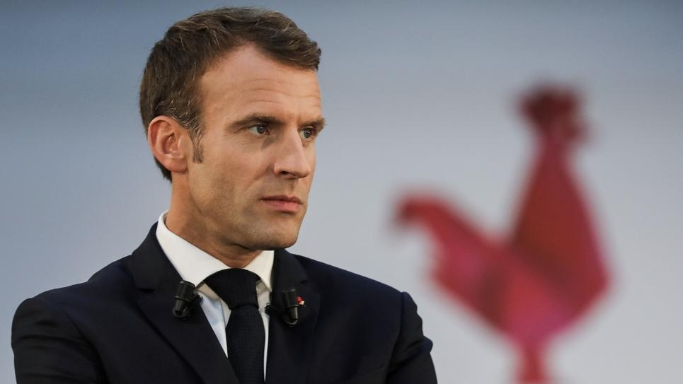 Emmanuel Macron à Paris le 9 octobre 2018
