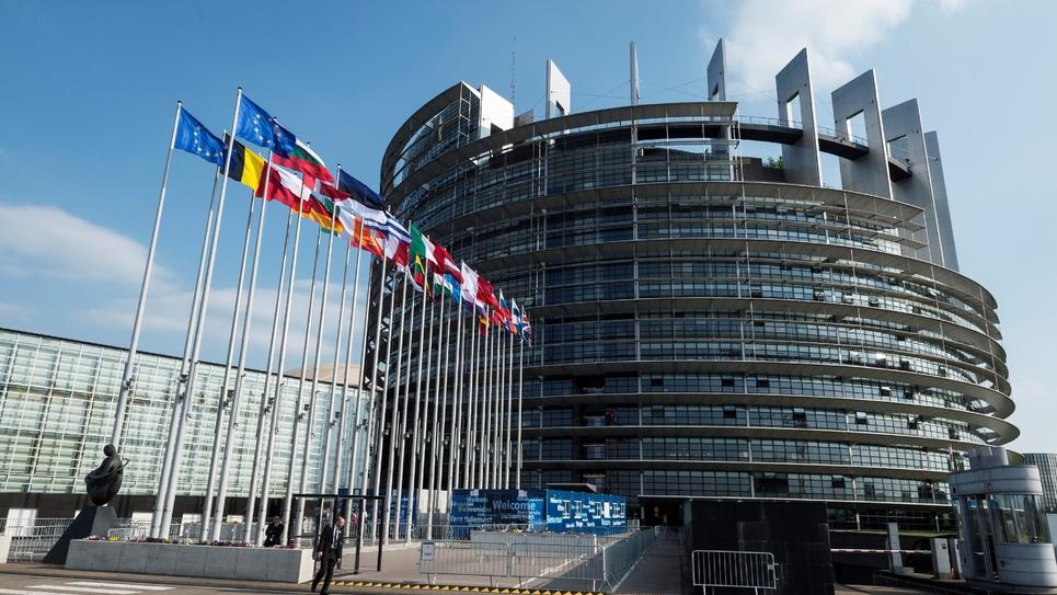 Le bâtiment du Parlement européen à Strasbourg le 3 avril 2017.