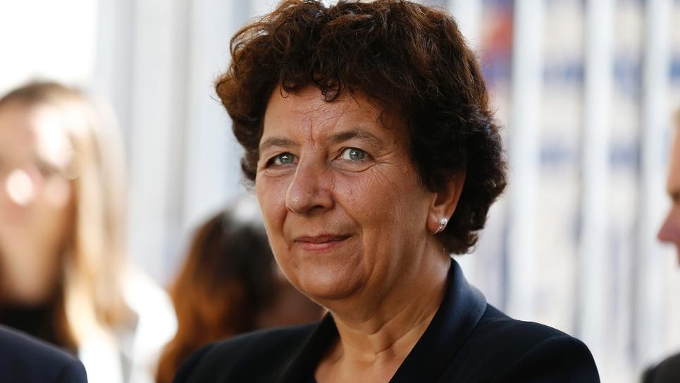 La ministre de l'Enseignement supérieur Frédérique Vidal à Rouen, le 24 septembre 2018
