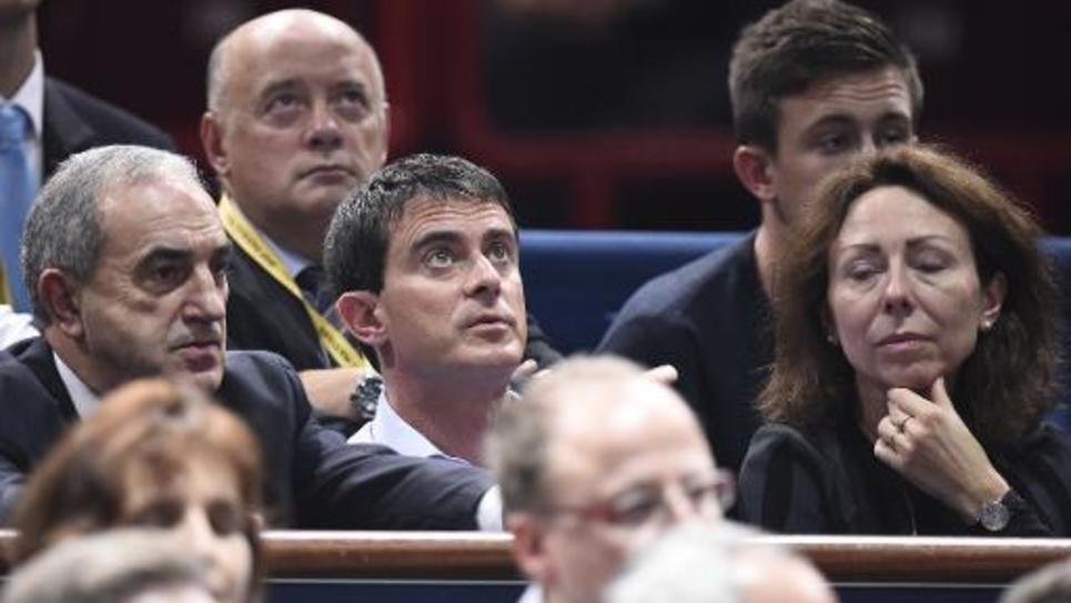 Le Premier ministre Manuel Valls le 1er novembre 2014 à Paris