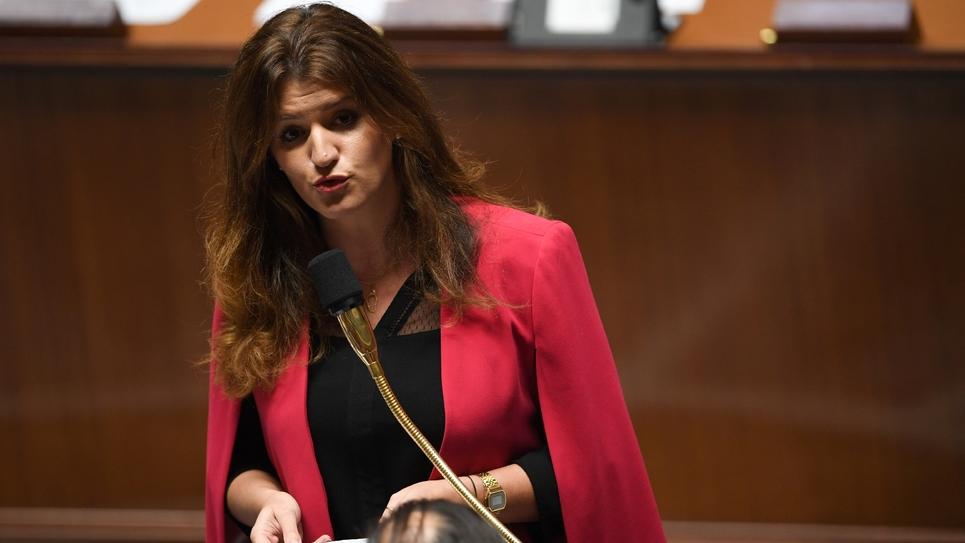 Marlène Schiappa, le 27 novembre 2018 à l'Assemblée nationale