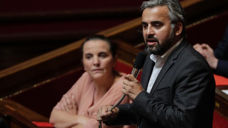 Le député LFI ALexis Corbière à l'Assemblée nationale le 26 juin 2018