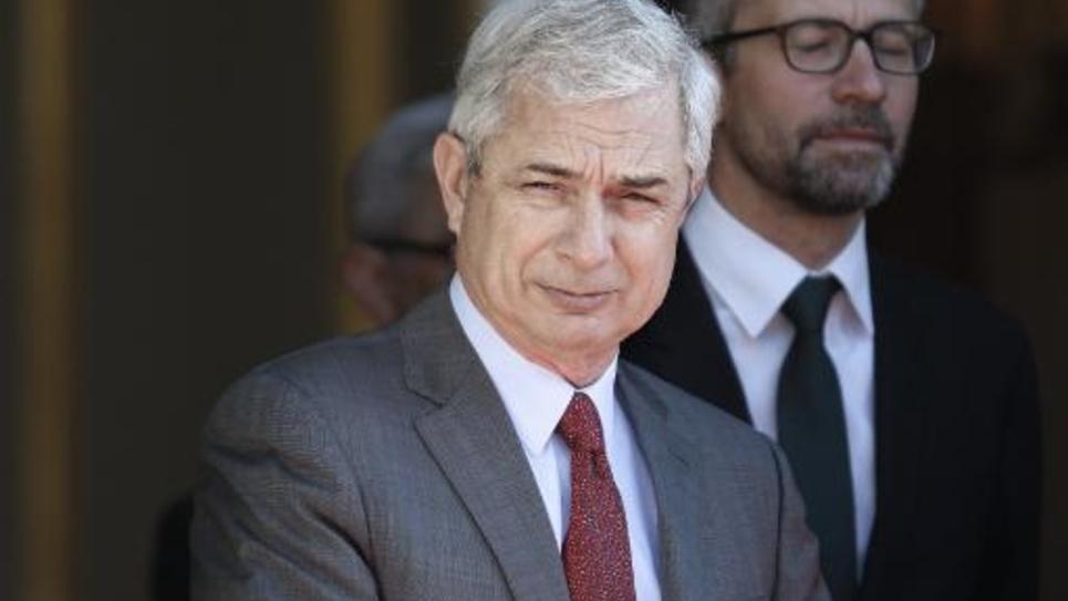 Le président de l'Assemblée nationale  Claude Bartolone le 22 avril 2015 à Paris